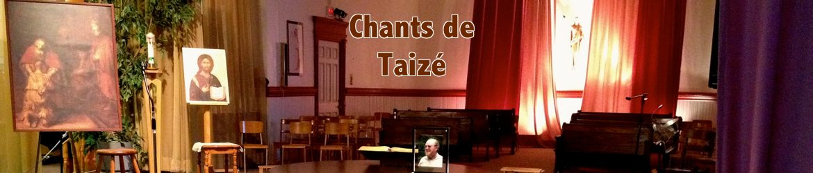 Chants de Taizé